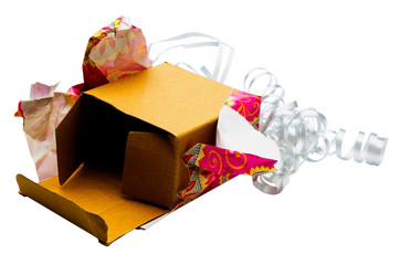 Unwrapped gift