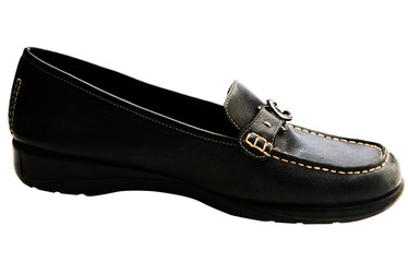 Black color shoe
