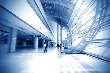 Corridor of modern architecture