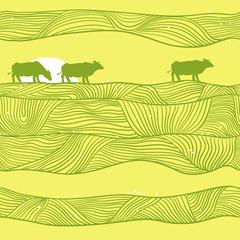 Cows Pattern.