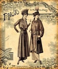 Wall Mural - Deux femmes à la mode