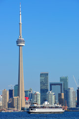 Fototapete - Toronto skyline in the day