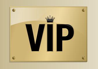 Plaque_VIP