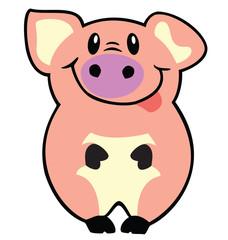 simple pig
