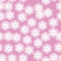 abstract background of winter