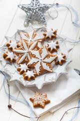 Homemade gingerbread for Christmas