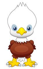 illustration of Cartoon eagle