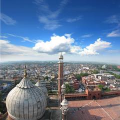 Photo sur Aluminium Delhi Inde - Mosquée Jama Masjid à Delhi