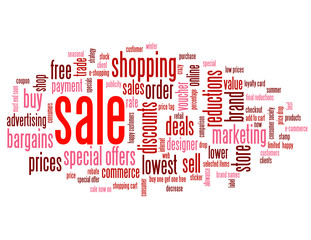 SALE Tag Cloud (discount buy store online marketing)