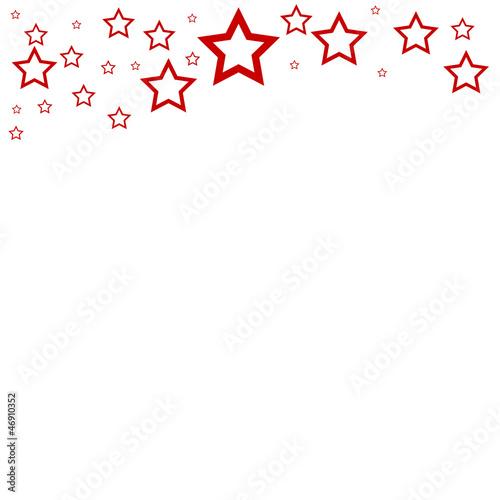 rahmen sterne rot oben stockfotos und lizenzfreie bilder. Black Bedroom Furniture Sets. Home Design Ideas