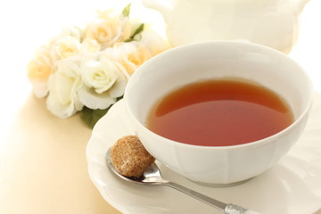english tea with brown sugar