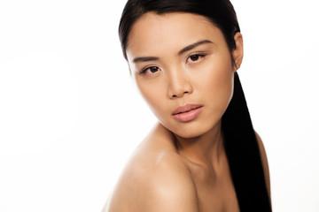 Attractive seductive Asian woman
