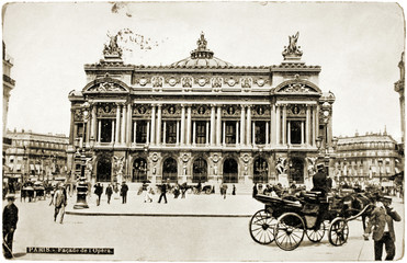 The Paris Opera Postcard