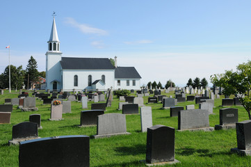 Quebec, the Saint Andrewl church of Richmond