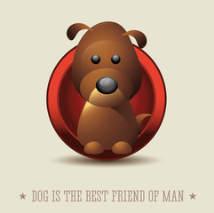 Dog is the best friend of man