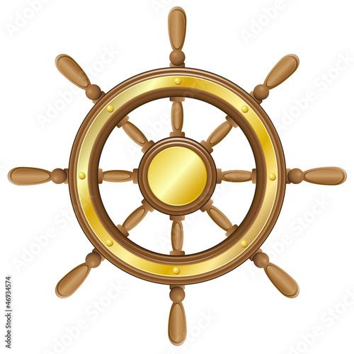 Как сделать руль для корабля