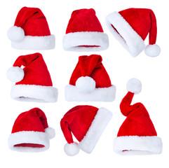 Santa's Hat set over white