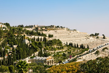Gethsemane, and the Church of all Nations   in Jerusalem