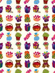 seamless gift pattern