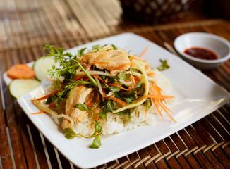 Rice with chikken