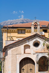Church of Calvary. Maratea. Basilicata. Italy.