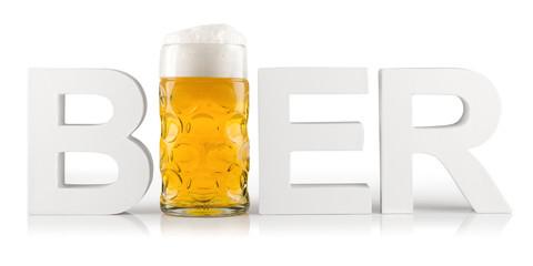 Bier font logo