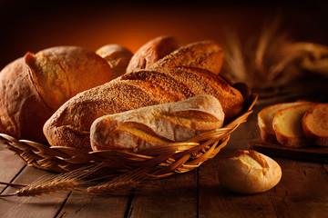 Photo sur Plexiglas Boulangerie pane rustico