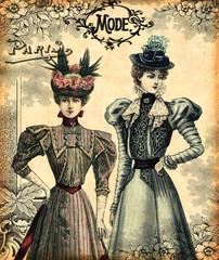 Wall Mural - Femmes à la mode
