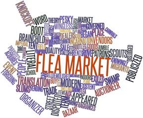 Word cloud for Flea market