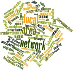 Word cloud for Local area network
