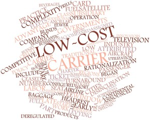 Word cloud for Low-cost carrier