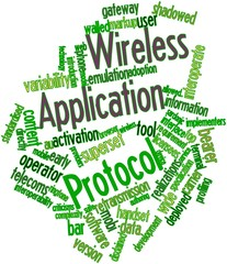 Word cloud for Wireless Application Protocol