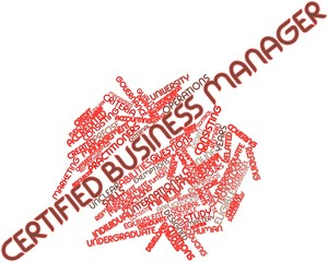 Word cloud for Certified Business Manager
