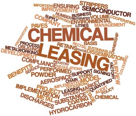 Word cloud for Chemical leasing