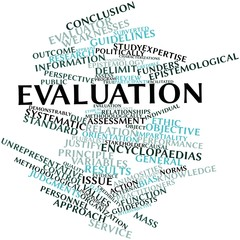 Word cloud for Evaluation