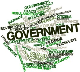Word cloud for Government
