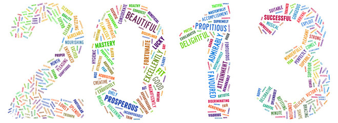 2013 as english tagcloud words
