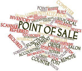 Word cloud for Point of sale
