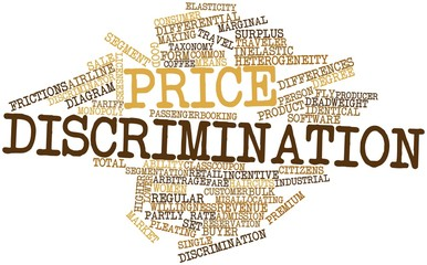 Word cloud for Price discrimination