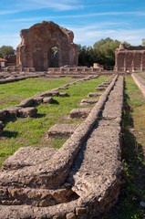 Wall Mural - Ruins at Piazza D'oro at Villa Adriana