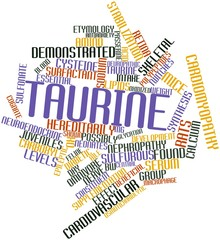 Word cloud for Taurine