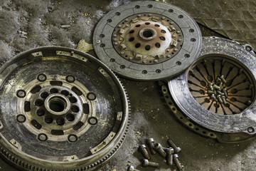 Car clutch components