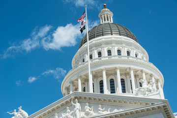 Sacramento State Capitol Building of California