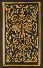 black, old book