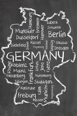 germany on blackboard