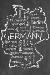 germany on blackboard