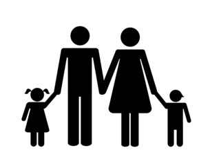 piktogramm familie
