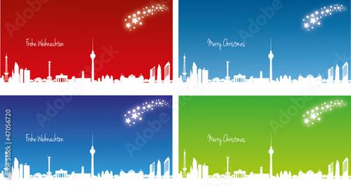 Weihnachtskarten Berlin.Weihnachtskarte Berlin 21 X 10 Cm Stockfotos Und Lizenzfreie