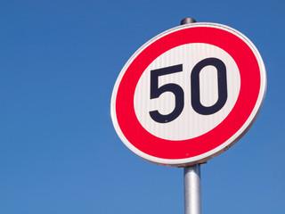 Verkehr - Sicherheit - Geschwindigkeitsbegrenzung