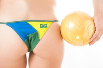 Brazilian Soccer Woman